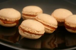 Macaron au beurre salé